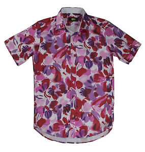mens fitted shirt, 60's 70's retro disco party shirt fancy dress
