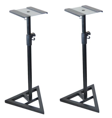 2x Ignite Heavy Duty Near-Field Studio Monitor Speaker Stand