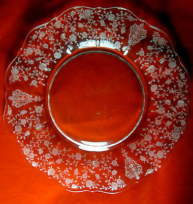 Cambridge Rose Point 3121  SALAD PLATE(s)  8""