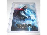 Marvel Movie Credits Trading Card Thor The Dark World #97