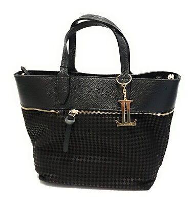 Tote Womens Große Handtasche (Designer Damen Tasche LUCA LORENZO Henkeltasche Handtasche Echtleder Women Bag )