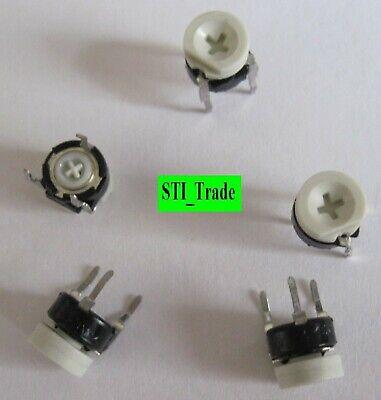 5 Pcs 0-1 Megohm Trim Pot Linear Potentiometer Variable Resistor