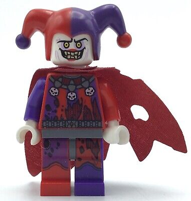 LEGO JESTRO MINIFIGURE NEXO KNIGHTS CASTLE JOKER FIGURE