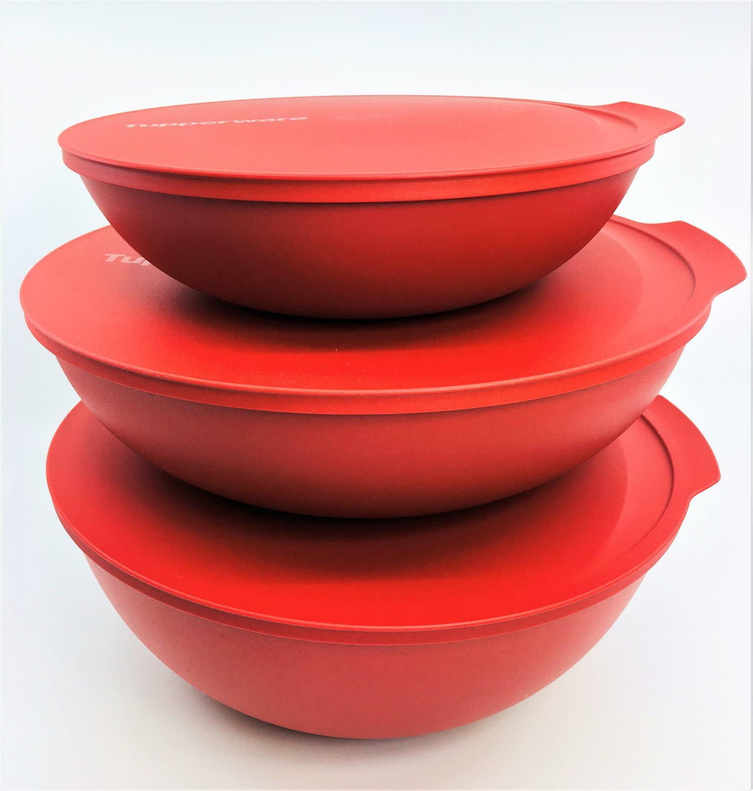 Tupperware,Allegra 5,0l Schüssel rot-gold,riesengroß,Schnäppchen,NEU+OVP !!