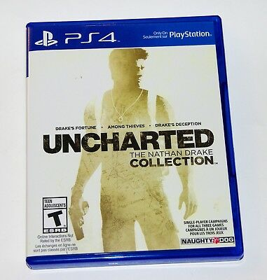 Replacement Case (NO GAME) Uncharted The Nathan Drake Collection PlayStation PS4 for sale  Shipping to Nigeria