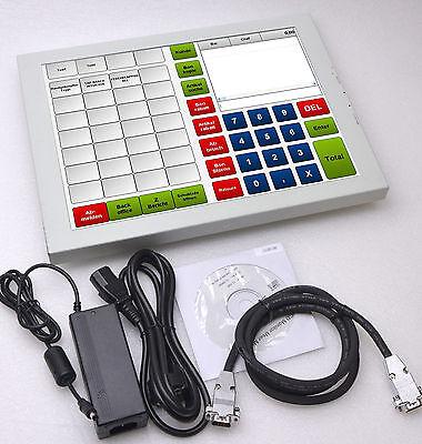 "38cm 15"" MONITOR DISPLAY ELO USB TOUCHSCREEN VT-568MT FÜR WIN 2000 XP WIN 7 8 -1"