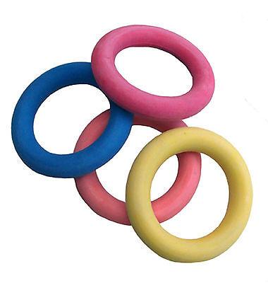 Moosgummi Ring Ø 16 cm schwimmfähig Spielzeug für Hund Hundespielzeug