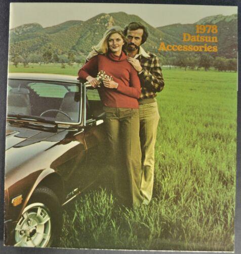 1978 Datsun Accessories Brochure 280-Z 200-SX B-210 F-10 610 710 810 Original 78