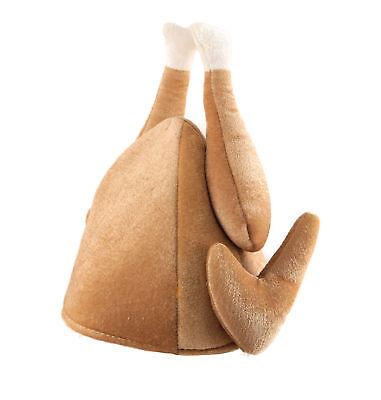 Erwachsene Weihnachten Truthahn Hut Braten Neuheit Kostüm Huhn Zubehör Top (Weihnachts Top Hut)