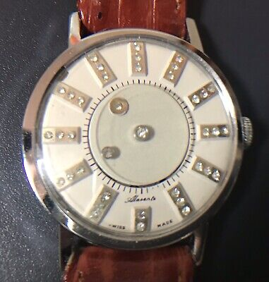 Vintage Mystery Watch Alavente Swiss Made Manual Winding Movement