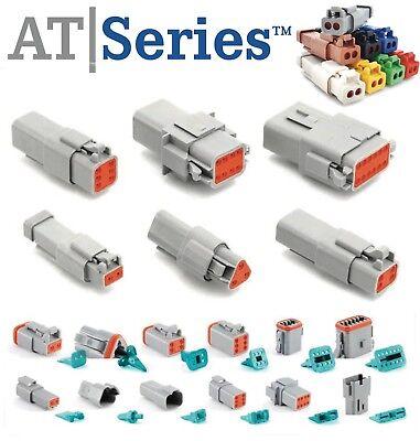 Amphenol 2346812 Pin Connector Housing Seals Crimp Terminals14-16 Awg