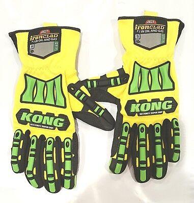 Ironclad Kong Sm Dexterity Supergrip Oil Gas Safety Impact Glovessdxg2-0203