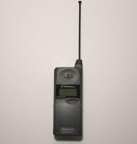 Vintage Motorola Ameritech MicroTAC 650e Flip Phone Brick 80