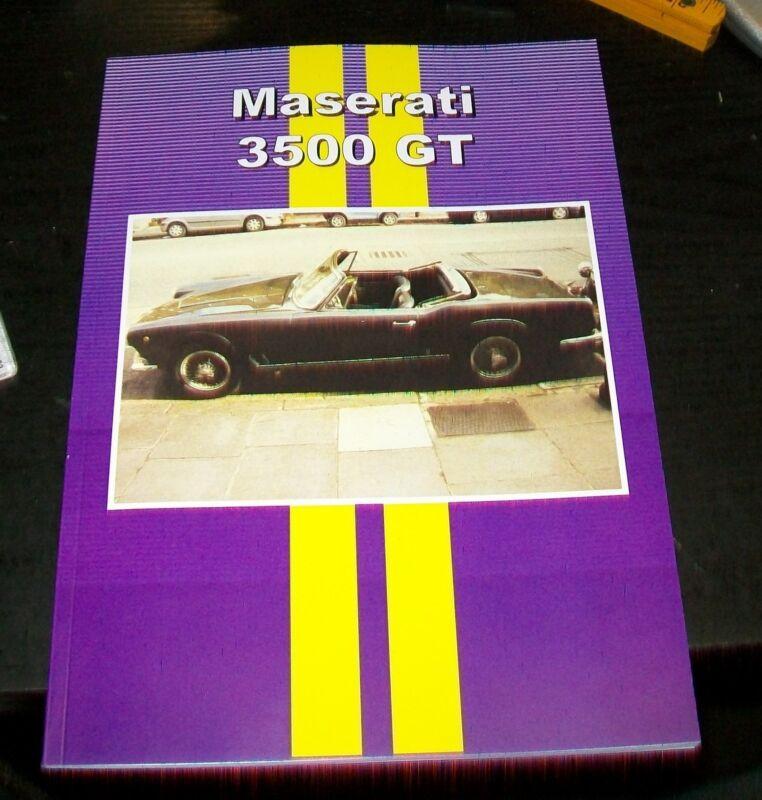 MASERATI+3500GT+ROAD+TEST+REPRINT+BOOK.+CP+PRESS