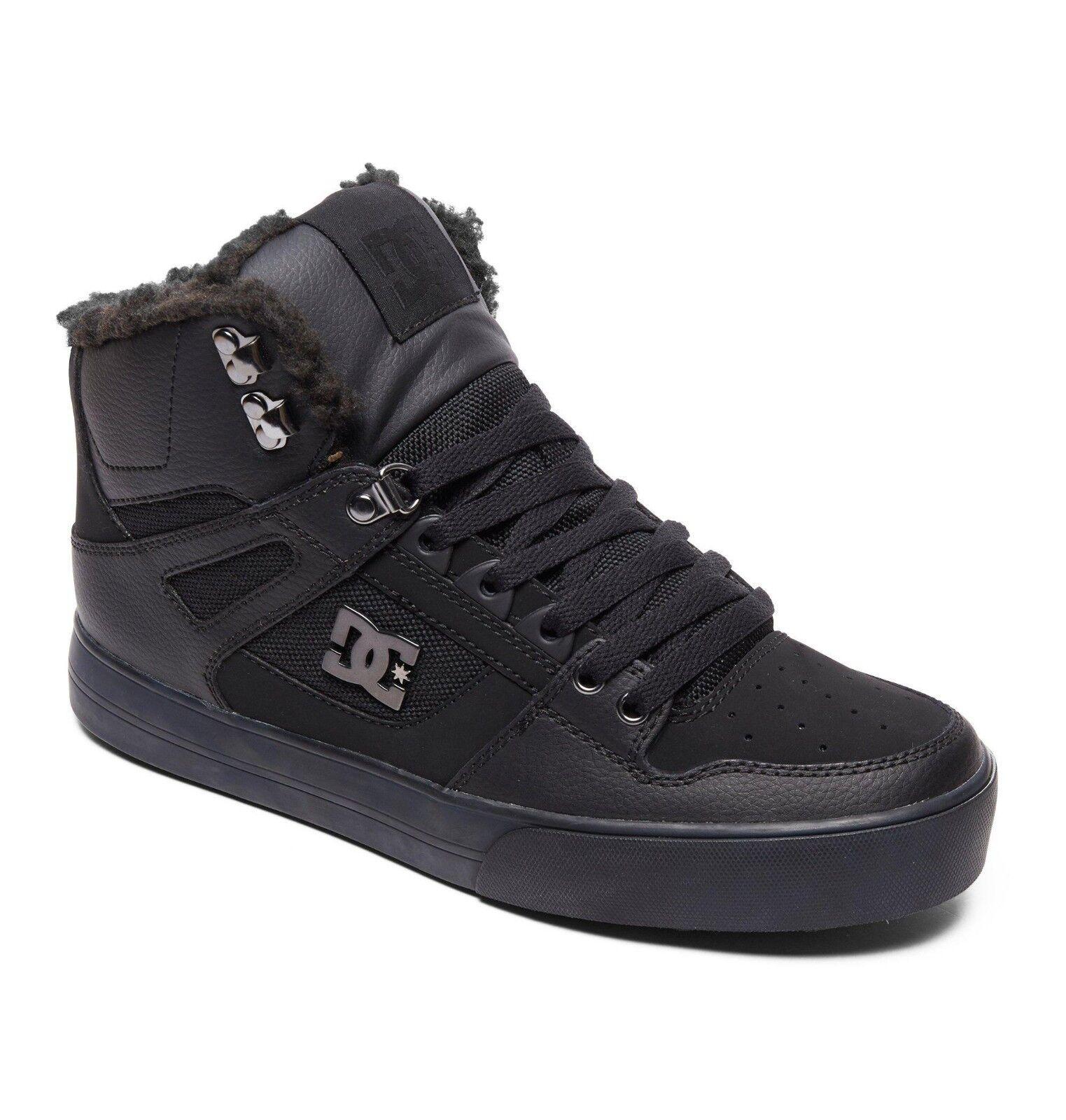 DC Spartan High WC WNT Men/'s Size 11 Black Armor BMX MOTO Skate Shoes Sneakers