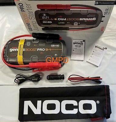 NOCO Genius Boost Pro GB150 4000 Amp Lithium Jump Starter 12V NEW!!! 19366933 GM