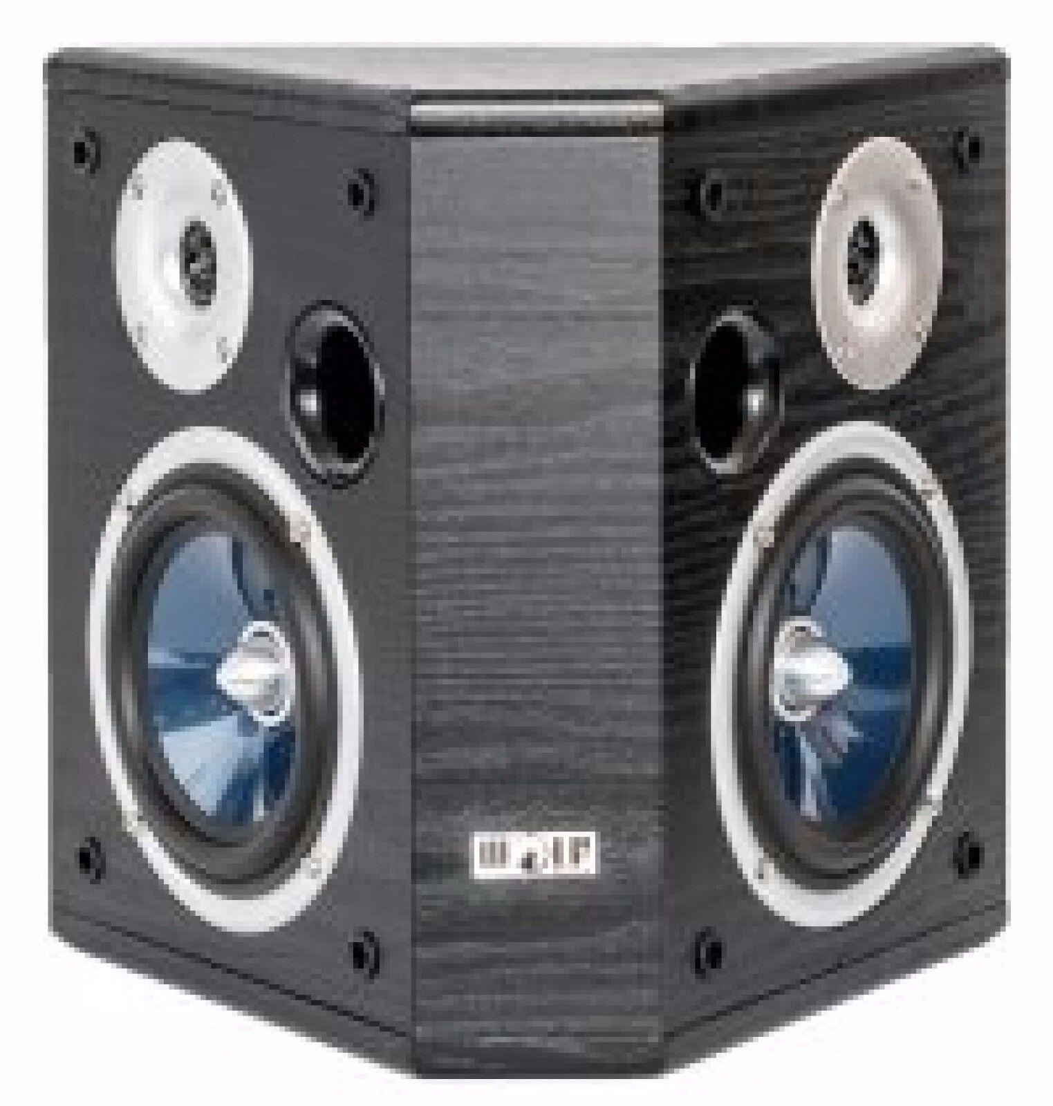 Wolf-Akustik Juno 55 Dipol-Surround-Lautsprecher schwarz (Paar) Top Preis Neu !