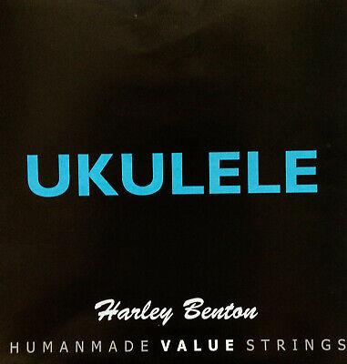 Harley Benton Ukulele Saiten schwarzes Nylon für Sopran/Konzert-Ukulele
