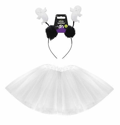 HALLOWEEN GHOST TUTU COSTUME CUTE Kids Toddler Ladies - Cute Ghost Kostüme