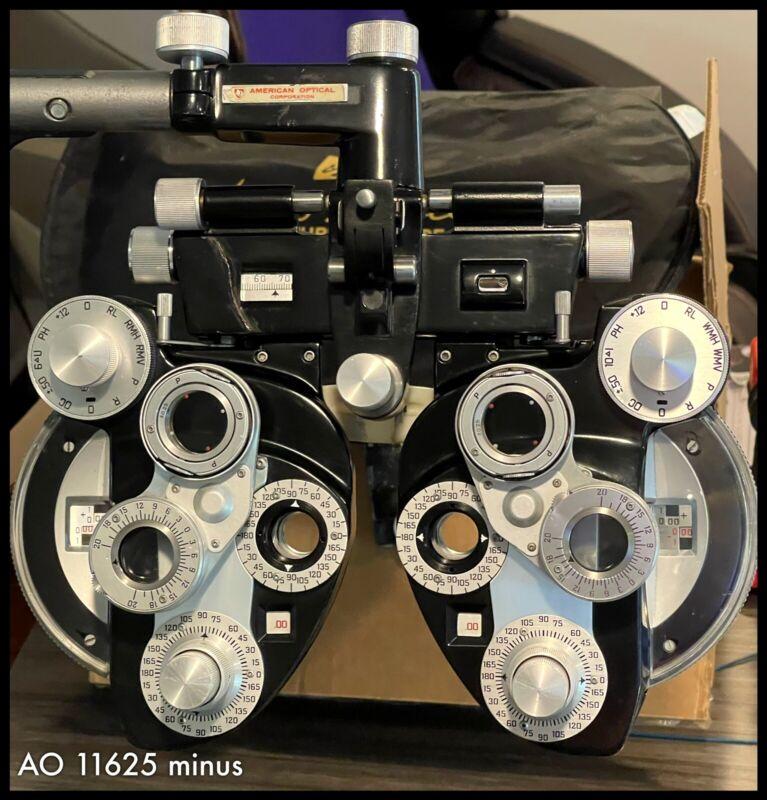 American Optical 11625 Minus (-) Cylinder Phoropter