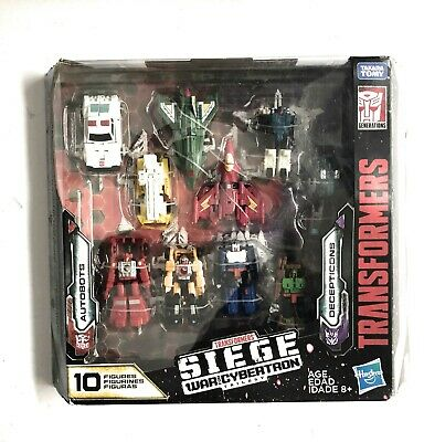 Transformers Siege War For Cybertron Micromaster 10 Pack Autobots Decepticons