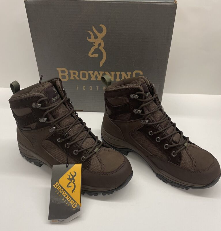 """Browning Buck Pursuit 6"""" Wide Mens Waterproof Boots New"""