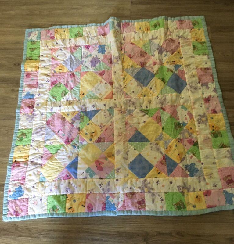 Quilt Handmade Baby  Girl Quilt 39 X 39