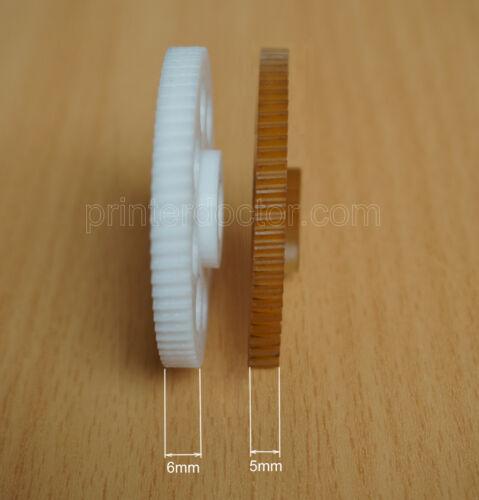 Improved Nylon gear replacement Hunt Boston model 18 / 19 pencil sharpener 296A