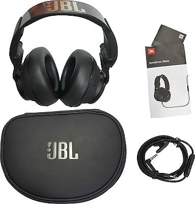 JBL Synchros Slate S500 Powered Over-the-Ear Stereo Headphones Black Steel Band, used for sale  Shipping to South Africa