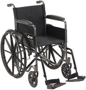 PROMO - Chaise roulante et coussin de Gel - Livraison gratuite