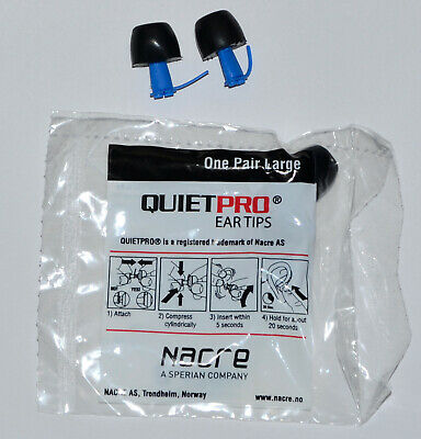 Quietpro Ear Tips 25 Pair LARGE Nacre Acoustical Filter NEW SEALED, used for sale  Honolulu
