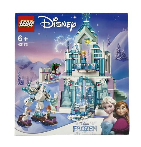 Lego 43172 Disney Princess Frozen Die Eiskönigin Elsas magischer Eispalast Anna