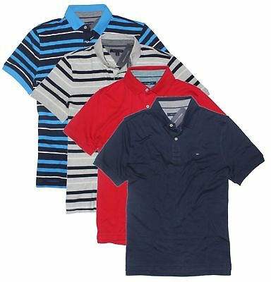Tommy Hilfiger Men's Classic Short Sleeve Polo Shirt ()