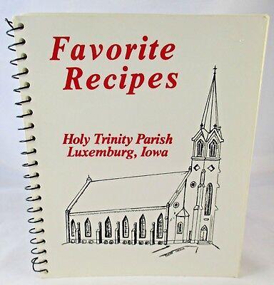 Vintage Favorite Recipes Holy Trinit Parish Luxemburg Iowa Oktoberfest - Oktoberfest Recipes
