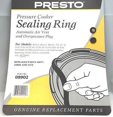Ring Sealing - Presto Pressure Cooker Sealing Ring Gasket For 6 Qt, 09902