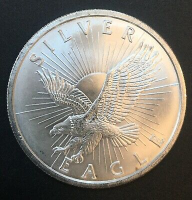 United States - Silver 1 Troy Ounce Coin - Silver Eagle - .999 - UNC