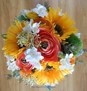 Wedding Bouquet Sunflowers Ellenbrook Swan Area Preview