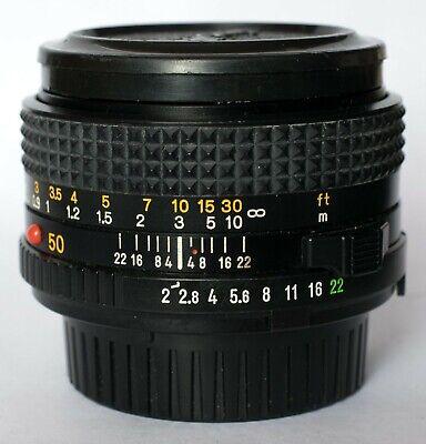 Minolta 50mm f2 lens in Minolta MD fit., usado segunda mano  Embacar hacia Spain