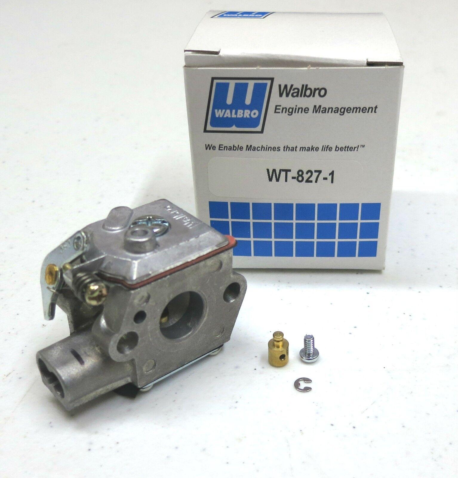 753-05133 OEM Walbro WT-827 WT827 CARBURETOR Carb Ryobi /& Ryan Trimmers 7843