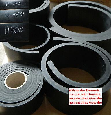 Schürfleiste Gummilippe Gummileiste für Schneepflug  10mm / 20mm / 30mm Dicke