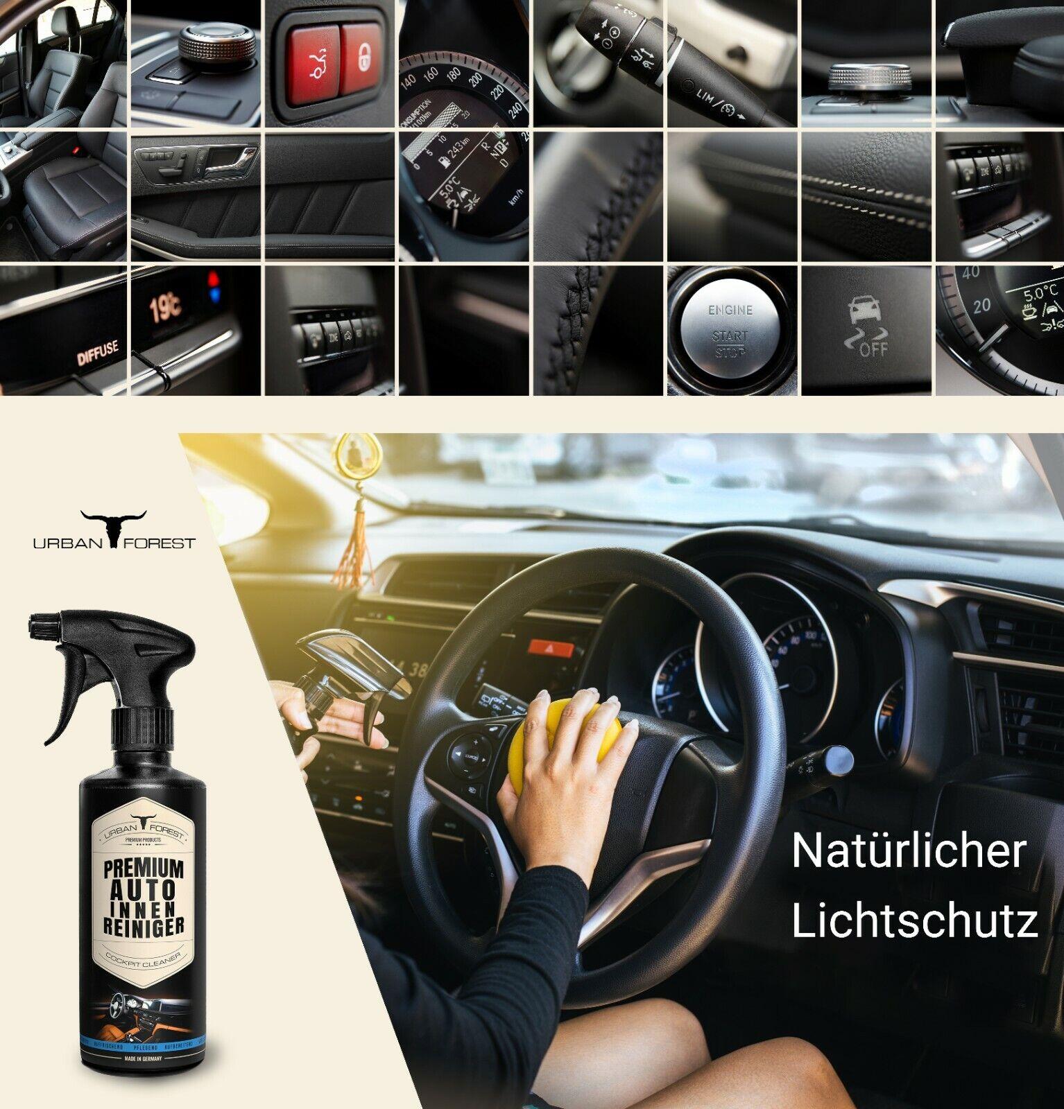 Auto Innenraumpflege SPARSET Premium Auto Innenraum Reiniger Leder Balsam