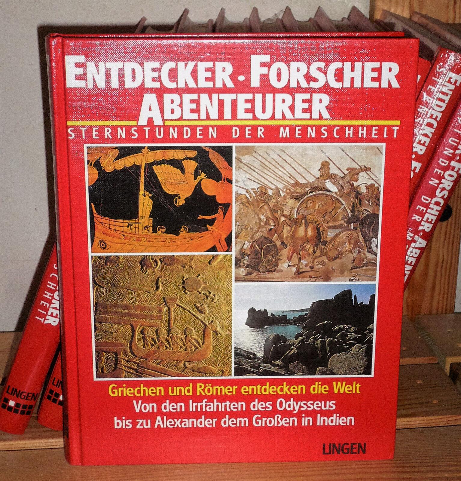 Entdecker - Forscher - Abenteurer (10 Bände)