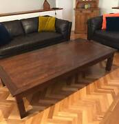Large Wooden Coffee Table Noosaville Noosa Area Preview