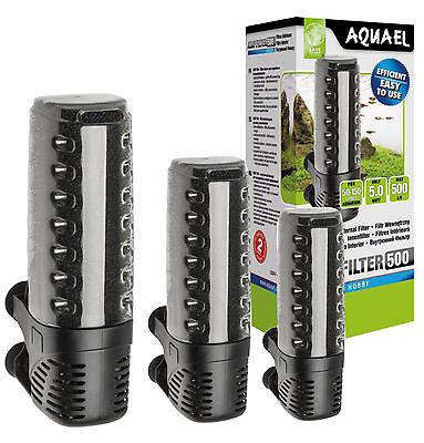 Aquarium Innenfilter Aquael ASAP kompl.Serie Schwammfilter Aquarien Filter Pumpe