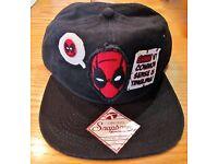 Deadpool Wade Wilson Logo Elastic Lanyard Strap Marvel Comics Brand New 0166