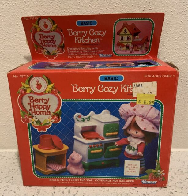 Vintage Strawberry Shortcake Berry Happy Home Kitchen Basic Set Bnib Toys Indoor Gumtree Australia Redland Area Alexandra Hills 1265499184