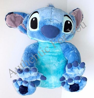 "NEW Disney Parks JUMBO STITCH 25"" Plush Giant Large Toy Doll - Lilo and Stitch"