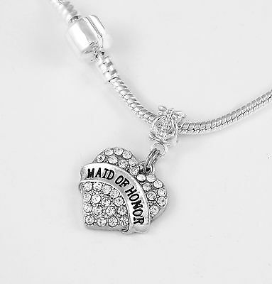 Maid of Honor Necklace Maid of Honor chain Maid of Honor Present best gift