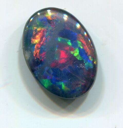 Australian Opal Triplets, 14x10, Multi-Color  XT124