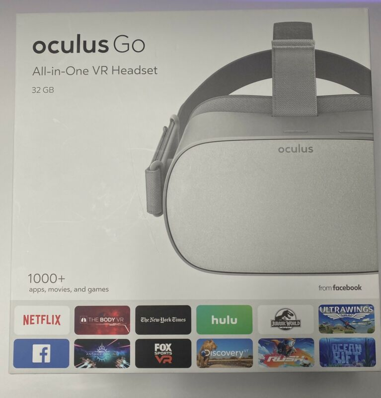 Oculus Go Standalone Virtual Reality Headset w/Controller 301-00102-01 - MH-A32